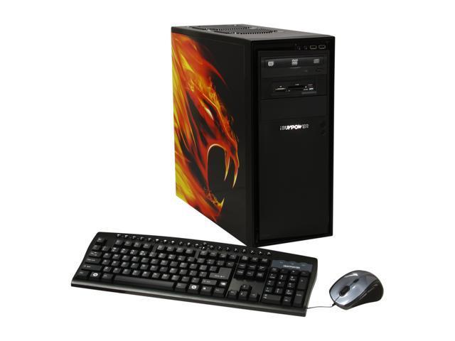 iBUYPOWER Desktop PC Gamer Power 577C4 AMD FX-Series FX-4100 (3.6 GHz) 8 GB DDR3 500 GB HDD NVIDIA GeForce GT 520 1GB Windows 7 Home Premium 64-Bit