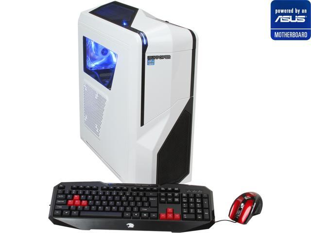 iBUYPOWER (Powered by ASUS Motherboard) Desktop PC (ASUS P8Z77 Series Motherboard) Gamer Power NE201A Intel Core i7 3770k (3.50 GHz) 16 GB DDR3 500 GB HDD NVIDIA GeForce GTX 660 Ti Windows 7 Home Prem
