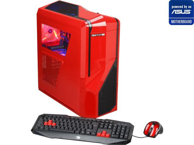 iBUYPOWER (Powered by ASUS Motherboard) Desktop PC (ASUS M5A97 Series Motherboard) Gamer Power NE280A AMD FX-Series FX-6100 (3.3 GHz) 8 GB DDR3 1 TB HDD Windows 7 Home Premium 64-Bit