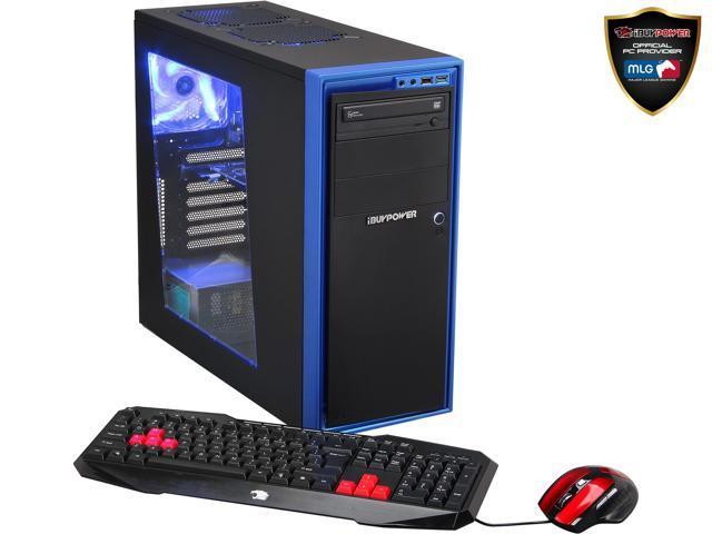 iBUYPOWER Desktop PC Gamer Power NE690FX AMD FX-Series FX-4300 (3.80 GHz) 8 GB DDR3 1 TB HDD Windows 7 Home Premium 64-Bit