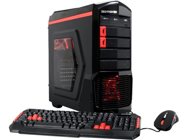 iBUYPOWER Desktop PC ARC Series NE621FX FX-6000 Series FX-6300 (3.50 GHz) 8 GB DDR3 1 TB HDD AMD Radeon R7 360 2 GB Windows 10 Home 64-Bit