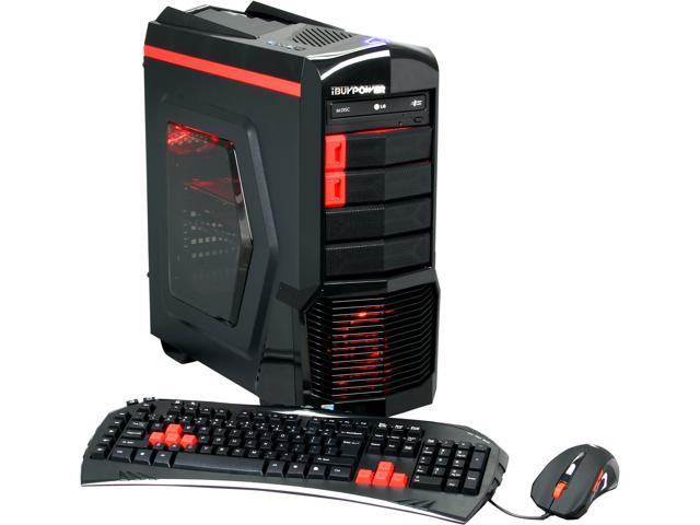iBUYPOWER Desktop PC ARC Series NE751i Intel Core i5 4670K (3.40 GHz) 8 GB DDR3 1 TB HDD AMD Radeon R9 270X Windows 7 Home Premium 64Bit