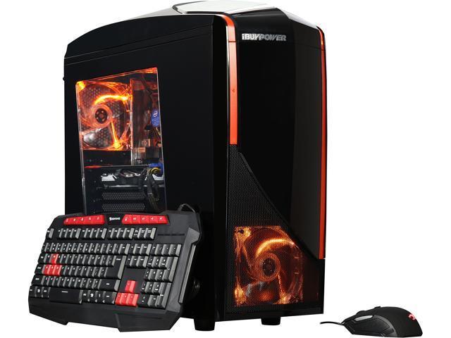 iBUYPOWER Desktop Computer NE980F Intel Core i7 6th Gen 6700K (4.00 GHz) 8 GB DDR4 2 TB HDD 120 GB SSD NVIDIA GeForce GTX 1080 Windows 10 Home 64-Bit