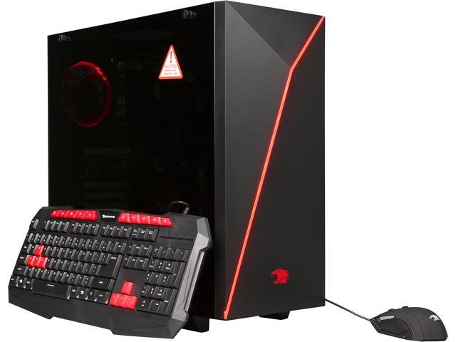 iBUYPOWER Desktop Computer NE460FS FX-8000 Series FX-8320 (3.50 GHz) 8 GB DDR3 1 TB HDD AMD Radeon RX 460 Windows 10 Home 64-Bit