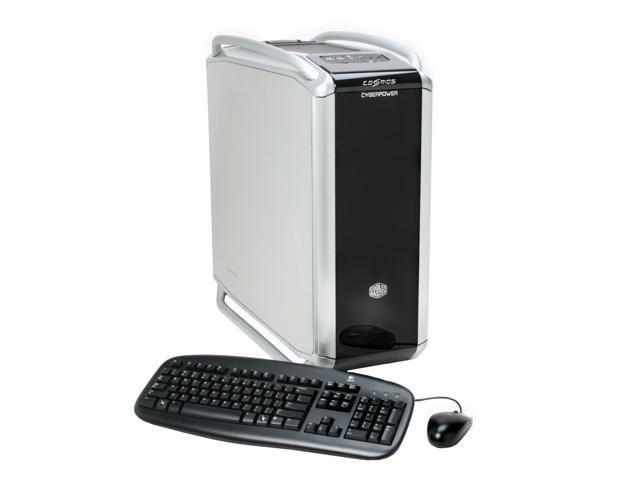 CyberpowerPC Desktop PC Gamer Infinity 9300 Core 2 Quad Q6600 (2.40 GHz) 4 GB DDR2 500 GB HDD Dual NVIDIA GeForce 8800 GTS Windows Vista Ultimate