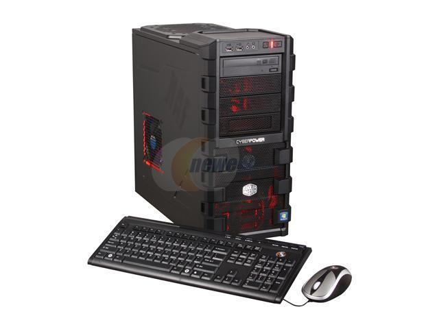 CyberpowerPC Desktop PC Gamer Ultra 2077LQ Phenom II X6 1055T (2.8 GHz) 8 GB DDR3 1 TB HDD AMD Radeon HD 6770 (1 GB) Windows 7 Home Premium 64-bit