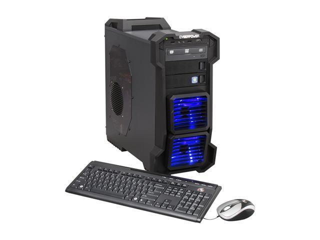 CyberpowerPC Desktop PC Gamer Xtreme 1316 Intel Core i5 2500K (3.30 GHz) 8 GB DDR3 2 TB HDD AMD Radeon HD 6770 1GB Windows 7 Home Premium 64-bit