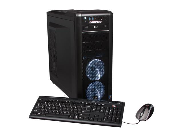 CyberpowerPC Desktop PC Gamer Ultra 2103 AMD FX-Series FX-8150 (3.6 GHz) 16 GB DDR3 2 TB HDD Windows 7 Home Premium 64-Bit