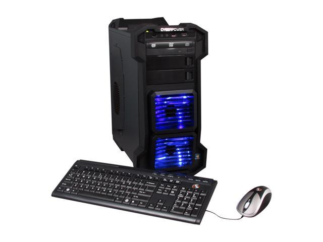 CyberpowerPC Desktop PC Gamer Ultra 2115 AMD FX-Series FX-8150 (3.6 GHz) 16 GB DDR3 2 TB HDD AMD Radeon HD 6770 1GB Windows 7 Home Premium 64-Bit