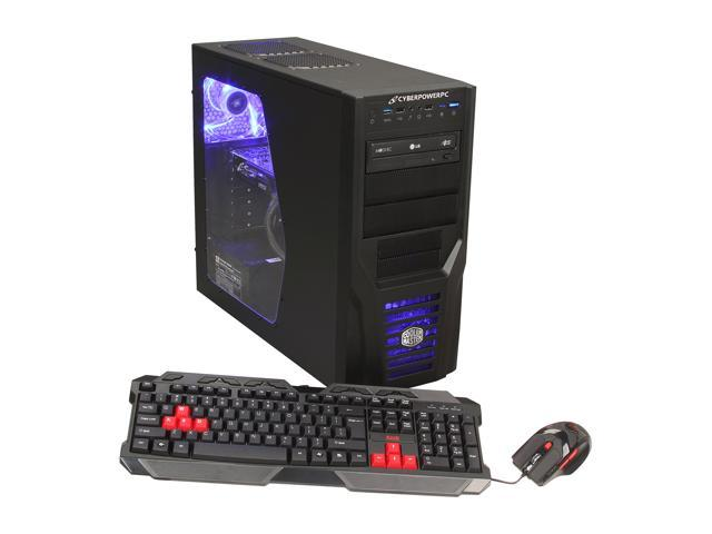 CyberpowerPC Desktop PC Gamer Xtreme 1352 Intel Core i5 3570k (3.40 GHz) 8 GB DDR3 2 TB HDD NVIDIA Geforce GTX 660 Ti 2GB Windows 7 Home Premium 64-Bit