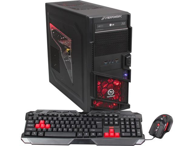 CyberpowerPC Desktop PC Gamer Ultra 2161 AMD FX-Series FX-8350 (4.0 GHz) 16 GB DDR3 2 TB HDD Windows 7 Home Premium 64-Bit