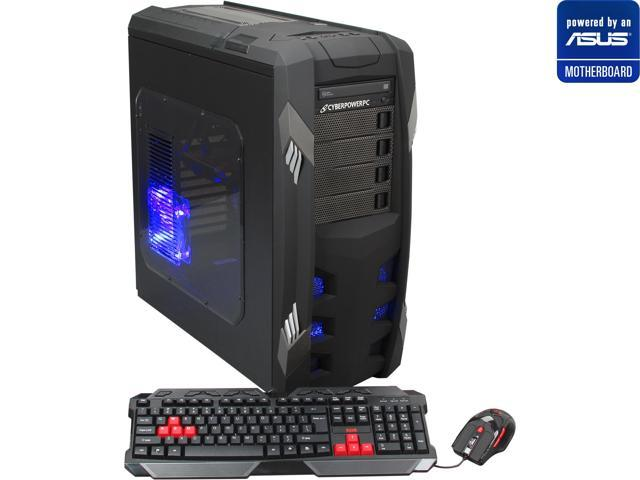 CyberpowerPC (Powered by ASUS Motherboard) Desktop PC (ASUS M5A97 LE Series Motherboard) Gamer Ultra 2168LQ AMD FX-Series FX-8350 (4.0 GHz) 16 GB DDR3 2 TB HDD AMD Radeon HD 7770 1GB Windows 8 64-Bit