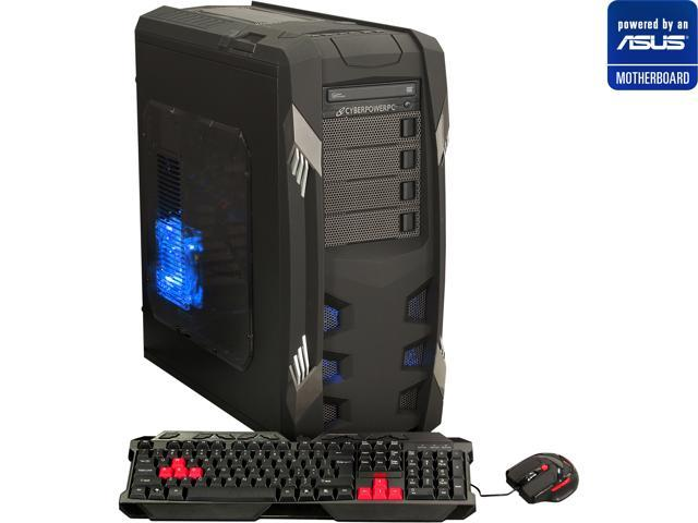 CyberpowerPC (Powered By ASUS Motherboard) Desktop PC (ASUS P9X79 LE Series Motherboard) Gamer Xtreme 1381LQ Intel Core i7 ...