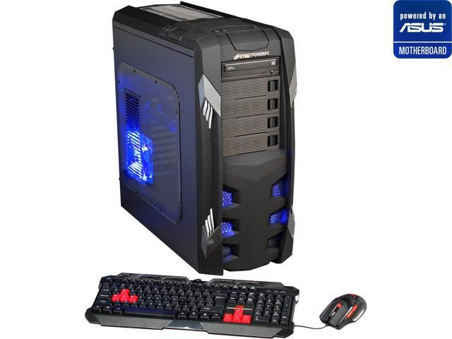 CyberpowerPC (Powered By ASUS Motherboard) Desktop PC (ASUS P9X79 LE Series Motherboard) Gamer Xtreme 1382LQ Intel Core i7 3820 (3.60 GHz) 16 GB DDR3 2 TB HDD AMD Radeon HD 7850 2GB Windows 8 64-Bit