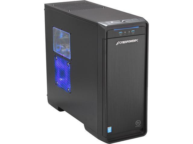 CyberpowerPC Desktop PC Stealth Rogue 100 Intel Core i5 4430 (3.00 GHz) 8 GB DDR3 1 TB HDD Windows 8 64-Bit