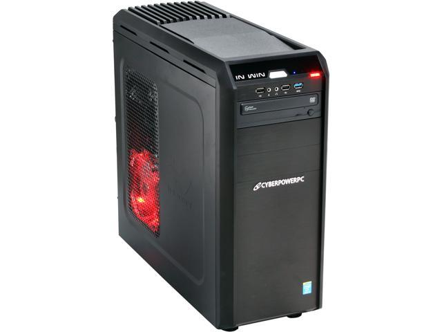 CyberpowerPC Desktop PC Stealth Ronin 100 Intel Core i5 4570 (3.20 GHz) 8 GB DDR3 1 TB HDD Windows 7 Home Premium 64-Bit