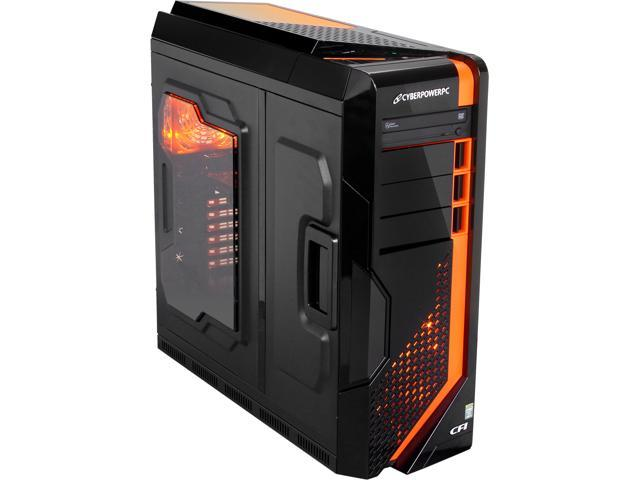 CyberpowerPC Desktop PC Zeus EVO Thunder 100 (ZET100LQ) Intel Core i5 4670K (3.40 GHz) 8 GB DDR3 2 TB HDD Windows 7 Home ...