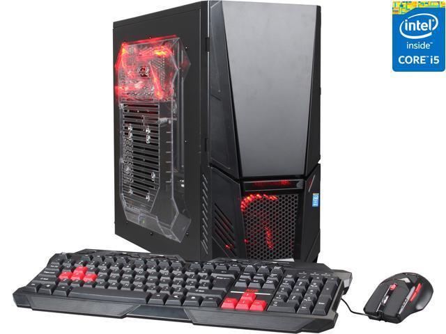 CyberpowerPC Desktop PC Gamer Xtreme H700 Intel Core i5 4690K (3.50 GHz) 8 GB DDR3 500 GB HDD AMD Radeon R7 240 2GB Windows 8.1 64-bit