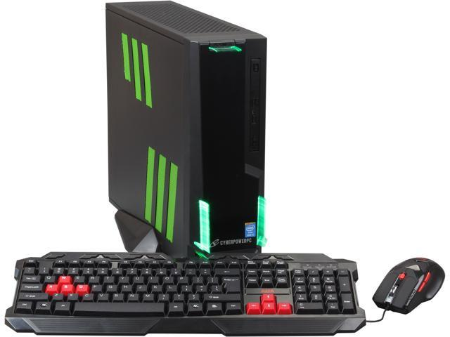 CyberpowerPC Desktop PC Zeus Mini H200 ZMH200 Intel Core i5 4670K (3.40 GHz) 8 GB DDR3 1 TB HDD NVIDIA GeForce GTX 760 Windows 8.1 64-bit