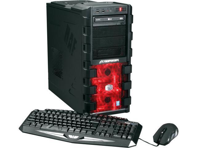 CyberpowerPC Desktop PC Stealth Ronin 150 Intel Core i5 4570 (3.20 GHz) 8 GB DDR3 2 TB HDD Windows 7 Home Premium 64-Bit