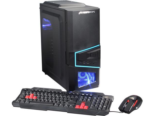 CyberpowerPC Desktop PC Gamer Ultra 2197 GU2197 FX-6300 (3.50 GHz) 4 GB DDR3 500 GB HDD AMD Radeon R5 230 1GB Windows 8.1 64-bit