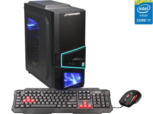CyberpowerPC Desktop PC Gamer Xtreme H435 Intel Core i7 4790K (4.0 GHz) 16 GB DDR3 2 TB HDD Windows 8.1 64-Bit