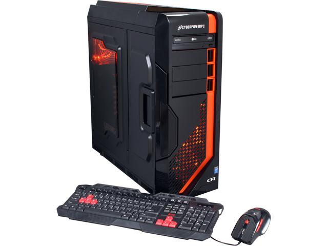 CyberpowerPC Desktop PC Zeus EVO Thunder 260LQ Intel Core i5 4690K (3.50 GHz) 16 GB DDR3 2 TB HDD AMD Radeon R7 260X 2GB Windows 7 Home Premium 64-Bit