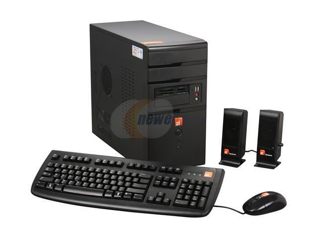 ZT Desktop PC Affinity 7345Mi-37 Core 2 Quad Q9300 (2.50 GHz) 4 GB DDR2 500 GB HDD NVIDIA GeForce 8400 GS Windows 7 Home Premium