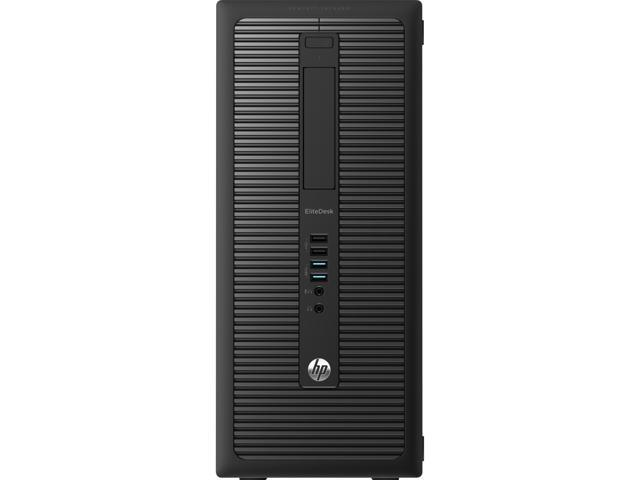 HP EliteDesk Desktop PC Intel Core i5 Standard Memory 4 GB Memory Technology DDR3 SDRAM 1TB HDD Windows 7 Professional