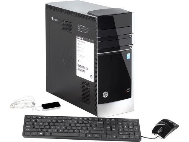 HP Desktop PC ENVY 700-150 (H6U56AA#ABA) Intel Core i7 4770 (3.40 GHz) 8 GB DDR3 1 TB HDD Windows 8