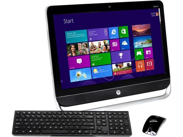 HP Desktop PC Pavilion 23-b320 E Series E2-2000 (1.75 GHz) 6 GB DDR3 500 GB HDD 23