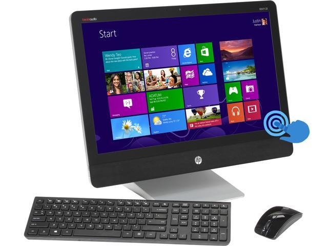 HP All-in-One PC ENVY Recline 23-k010 (H6T97AA#ABA) Intel Core i3 4130T (2.90 GHz) 4 GB DDR3 1 TB HDD 23