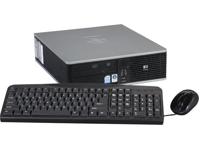 HP Desktop PC, 1 Year Warranty DC5800 Pentium Dual Core 2.0 GHz 2GB 80 GB HDD Windows 7 Home Premium 64bit