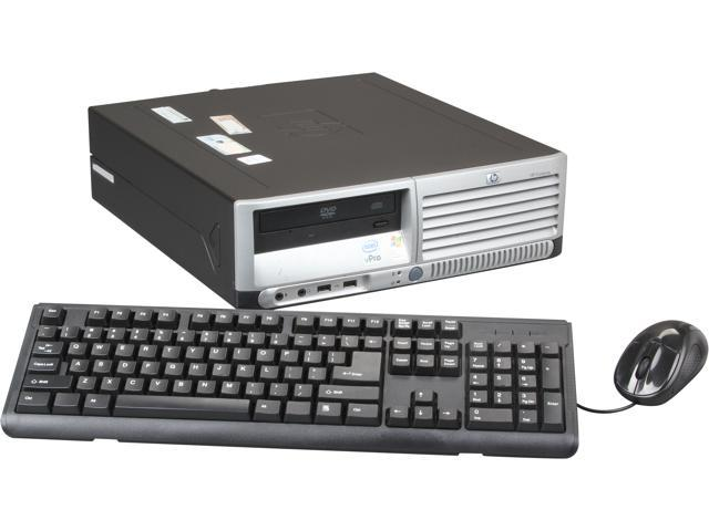 HP Desktop PC DC7700 Core 2 Duo 1.8 GHz 2GB 80 GB HDD Windows 7 Professional 64bit