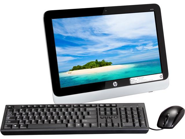 HP All-in-One PC 19-2011 E1-2500 (1.40 GHz) 4 GB DDR3 19