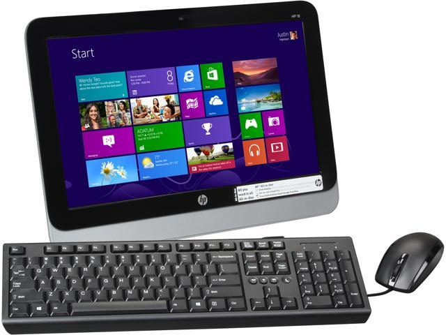 HP All-in-One PC 18-5010 E1-2500 (1.40 GHz) 4 GB DDR3 18.5