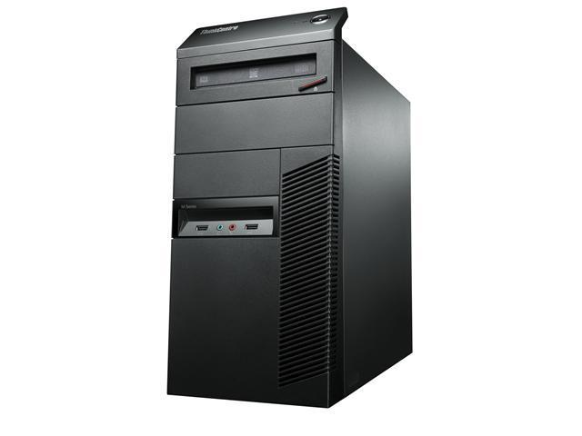 Lenovo ThinkCentre M92p 3212C9U Desktop Computer - Intel Core i7 i7-3770 3.4GHz - Tower - Business Black