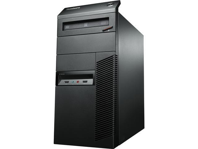 Lenovo ThinkCentre M92p 3228A1U Desktop Computer - Intel Core i7 i7-3770 3.4GHz - Tower - Business Black