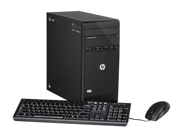 HP Desktop PC                                                                                          Pavilion P2-1310 (H3Y72AA#ABA) AMD E2-1800 E2-1800 (1.7 GHz) 4 GB DDR3 500 GB HDD Windows 8