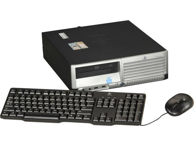 HP Desktop PC DC7700 Pentium D 3.4 GHz 2GB 80 GB HDD Windows XP Professional
