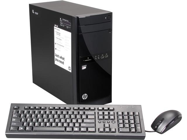 HP Desktop PC 110-014 (H5P35AA#ABA) AMD Dual-Core Processor E1-1500 (1.48 GHz) 4 GB DDR3 500 GB HDD Windows 8