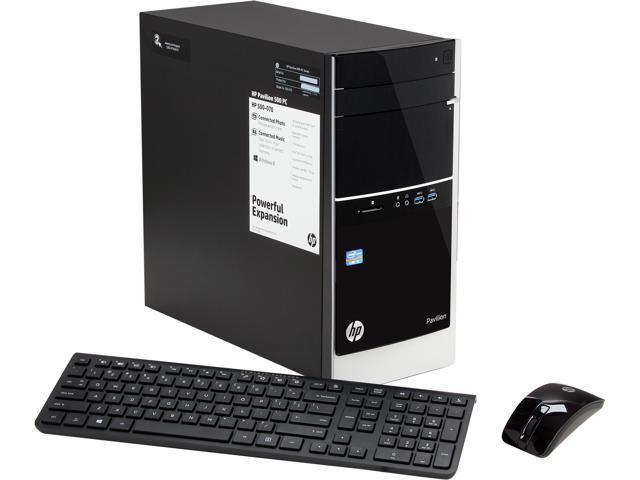 HP Desktop PC Pavilion 500-070 (H5P76AA#ABA) Intel Core i3 3240 (3.40 GHz) 8 GB DDR3 1 TB HDD Windows 8