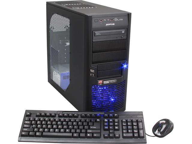 Avatar AMD FX-6100(3.3GHz) 8GB DDR3 1TB HDD Capacity Desktop PC Windows 8 64-Bit Gaming FX6161