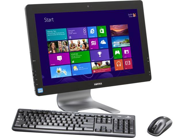 "Avatar Desktop PC Apollo AIO I7 Intel Core i7 3770 (3.40 GHz) 16 GB DDR3 1 TB HDD 21.5"" Windows 8 64-bit"