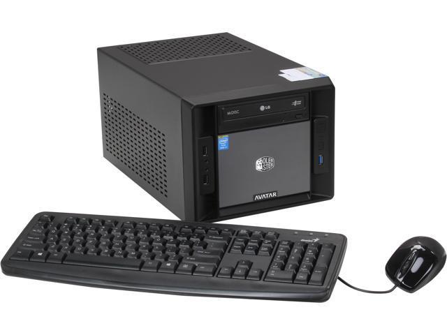 Avatar Desktop PC Gaming Mini I7 Intel Core i7 4770 (3.40 GHz) 16 GB DDR3 1 TB HDD Windows 8
