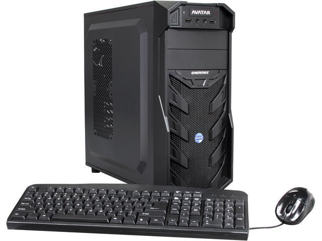 Avatar Desktop PC Gaming FX 6377OC AMD FX-Series FX-6300 (3.50 GHz) 8 GB DDR3 1 TB HDD Windows 8.1 64-bit