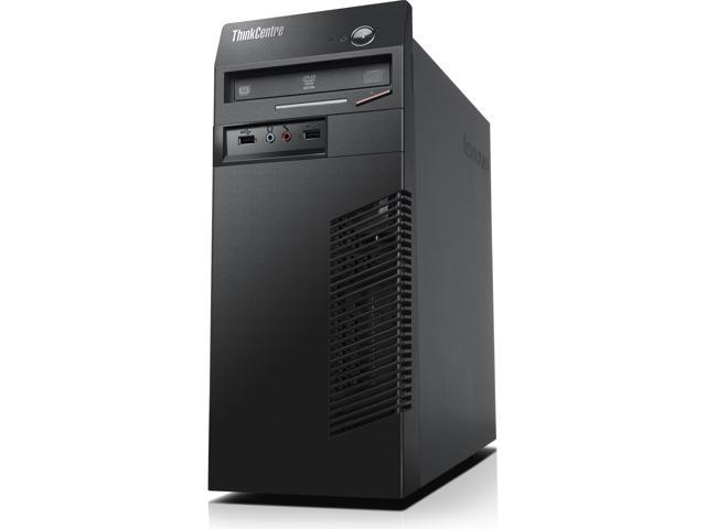 Lenovo ThinkCentre Desktop PC Intel Core i3 Standard Memory 4 GB Memory Technology DDR3 SDRAM 500GB HDD Genuine Windows 8 ...