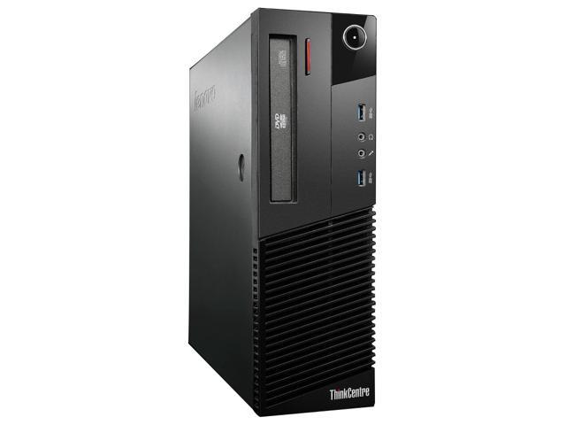 Lenovo ThinkCentre M83 10AM000FUS Desktop Computer - Intel Core i5 i5-4570 3.2GHz - Small Form Factor - Business Black