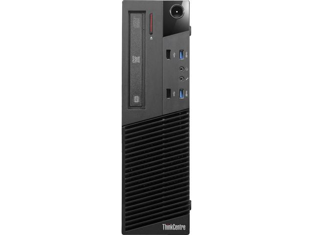 Lenovo ThinkCentre M83 10AH001HUS Desktop Computer - Intel Core i5 i5-4570 3.2GHz - Small Form Factor - Business Black