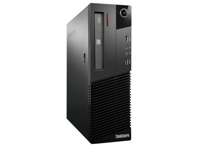 Lenovo ThinkCentre 10AM000NUS Desktop Computer - Intel Pentium G3220 3 GHz - Small Form Factor - Business Black